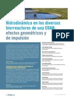 Articulo Tecnico Hidrodinamica Reactores Estacion Depuradora Aguas Residuales Impulsion Tecnoaqua Es