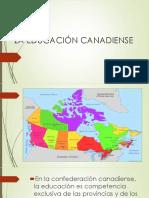 La Educación Canadiense (1)