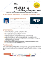 PetroSync - ASME B31.3 Process Piping Code Design Requirements 2019