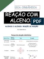 Alcenos e Alcinos