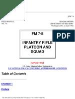 US Army-FM7-8
