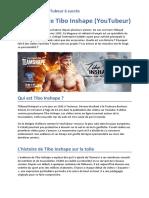 Ee7adbcf943b9358b7ba3221cfe4af3e Histoire de Tibo Inshape Youtubeur Musculation Fitness