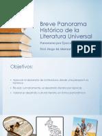 Breve Panorama de La Lit Univ- Clasica-medieval-renacim