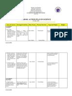 Action Plan in Science Jaja Version