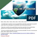 Iubirea, Realitatea și Timpul Tranziției