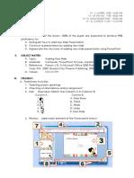 Lesson Plan Adding New Slide