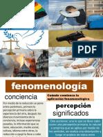 EL ENFOQUE FONOMENOLOGICO