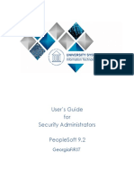 Users Guide for Security Administrators 2016