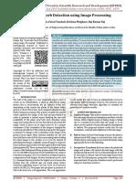 Ayurvedic Herb Detection using Image Processing