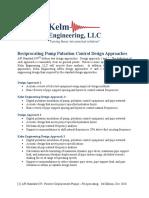 API 674 Kelm Engineering Design Appoaches