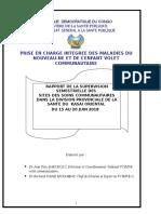 Rapport de Supervision Semestrielle Des Sites Des Soins Communautaires Dans La Dps Du Kasai Oriental Avec l'Appui Du Save the Children Juin 2018