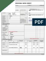 Pds Personal Data Sheet Teacherph.com