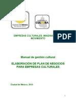 Manual de gestion cultural 2015