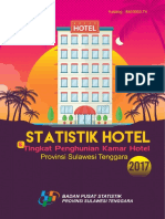 Statistik Hotel Dan Tingkat Penghunian Kamar Hotel Provinsi Sulawesi Tenggara 2017