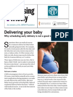 Delivering your baby