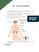 Endocrine System Notes_NCERT Based