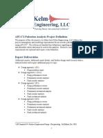 API 674 Report Deliverables