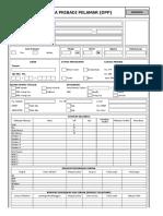 Form Data Pribadi Pelamar