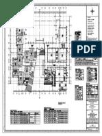 Block 1- First Floor Plan