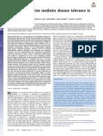 Glucose Metabolism Mediates Disease Tolerance in Cerebral Malaria