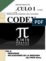 Codex Calculo i Tomo II
