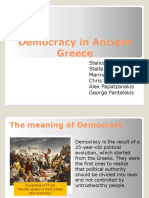 Democracy in Ancient Greece