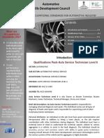1404 Auto Service Technician Level 6