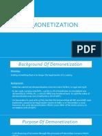 Demonetization PPT