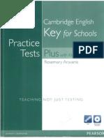 Cambridge English Key for Schools Practice Tests Plus (Aravanis)