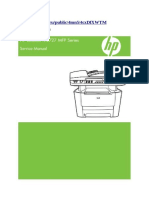 HP LJ M2727 Service Manual