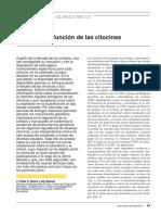 Estructuras y Funcion de Las Citocinas