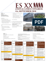 Limes Congress Program 2018 1