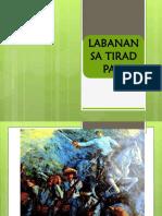 Aral. Pan 1st Q, Week 7Day 3 Labanan Sa Tirad Pass