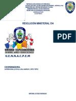 Principios y Normas de Actuación Policial Relativas a Niños Resolucionministerial 334