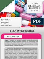 Kasus etika di apotek.ppt
