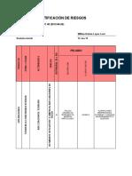 Matriz Para Identificacion de Peligros, Valoracion de Riesgos y Determinacion de Controles
