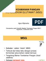 Keamanan Pangan MSG-Agus W-3 Des 09
