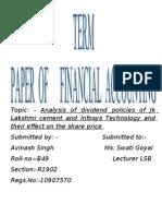 Term Paper of Fm