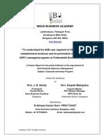 Cip Report (Hdfc Bank )