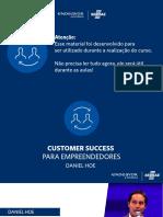 Customer Sucess Para Empreendedores - SEBRAE