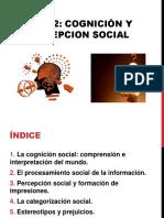 Cognición y Percepcion Social