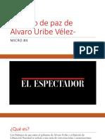Proceso de Paz de Álvaro Uribe Vélez