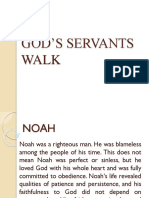 God's Servants' Walk