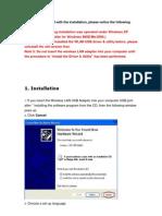 RTL8187 User Manual
