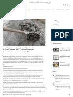 Cómo hacer mezcla de cemento _ Cementos Cibao.pdf