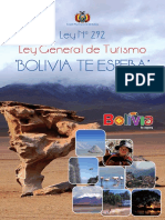 Ley 292 General de Turismo