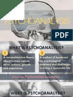 Sigmund Freud -Psychoanalysis