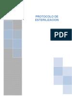 Protocolo Etapas de Esterilizacion Xtina