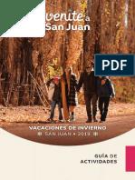 Guía de Actividades - Vacaciones de Invierno 2019