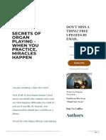 Organ Improvisation_ Tips for Improvising in Free Forms - SECRETS of ORGAN PLAYI